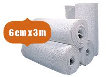 50er Pack Gipsbinden Comfort-Cast 6cm x 3m