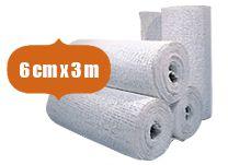 60er Pack Gipsbinden Comfort-Cast 6cm x 3m